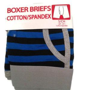 5/$25 Men's S 28 30 boxer briefs stripes